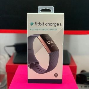 Fitbit Charge 3 in blue gray/rose gold